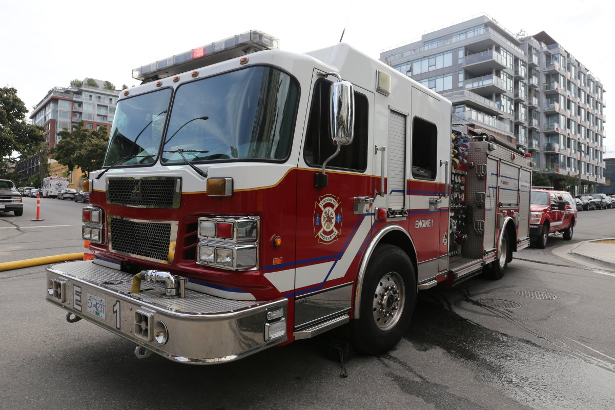 Fire truck Vancouver