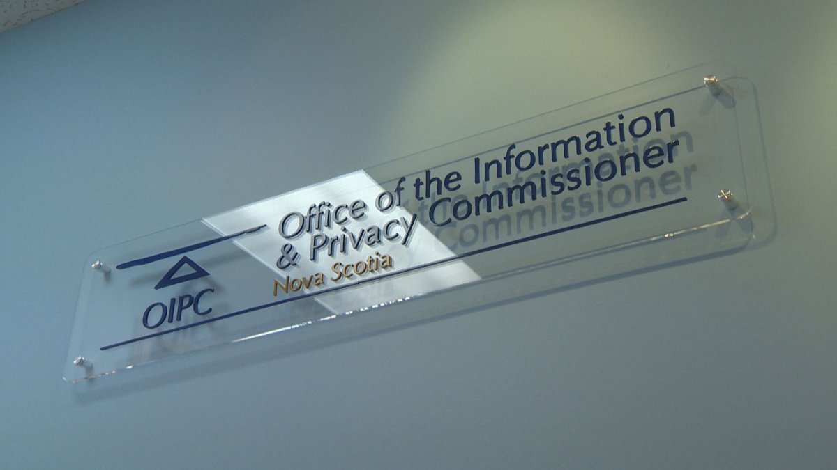 The Office of the Information and Privacy Commissioner for Nova Scotia logo pictured Sept. 22, 2016.