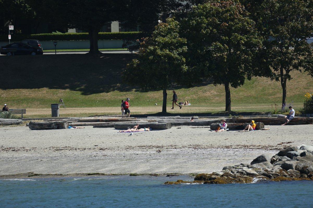 Vancouver beach English Bay