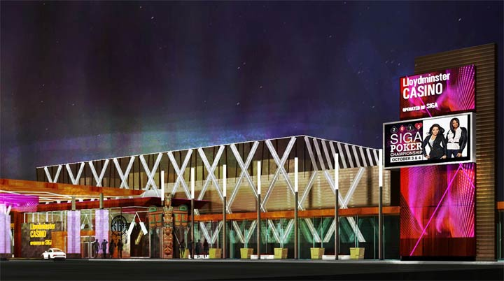 Representatives from the Saskatchewan Indian Gaming Authority were in Lloydminster to present their plans for a new casino.