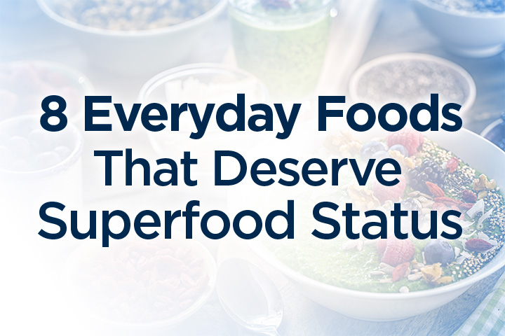 Chia seeds, goji berries, kale – they're marketed as superfoods you should stock up on, but what about the likes of apples, oranges and broccoli?.