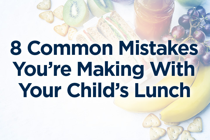 Soggy sandwiches, missing entire food groups, or repetitive meals. There's a reason why your kids may be trading away their lunch, come home with rumbling tummies or with a half-eaten lunch bag.