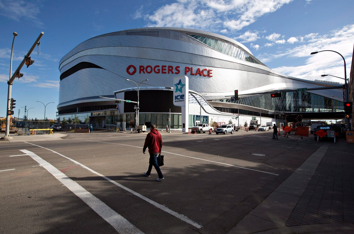 Rogers Place Arena, the new home of the Edmonton Oilers, is shown in Edmonton, Alta., on Wednesday September 7, 2016.