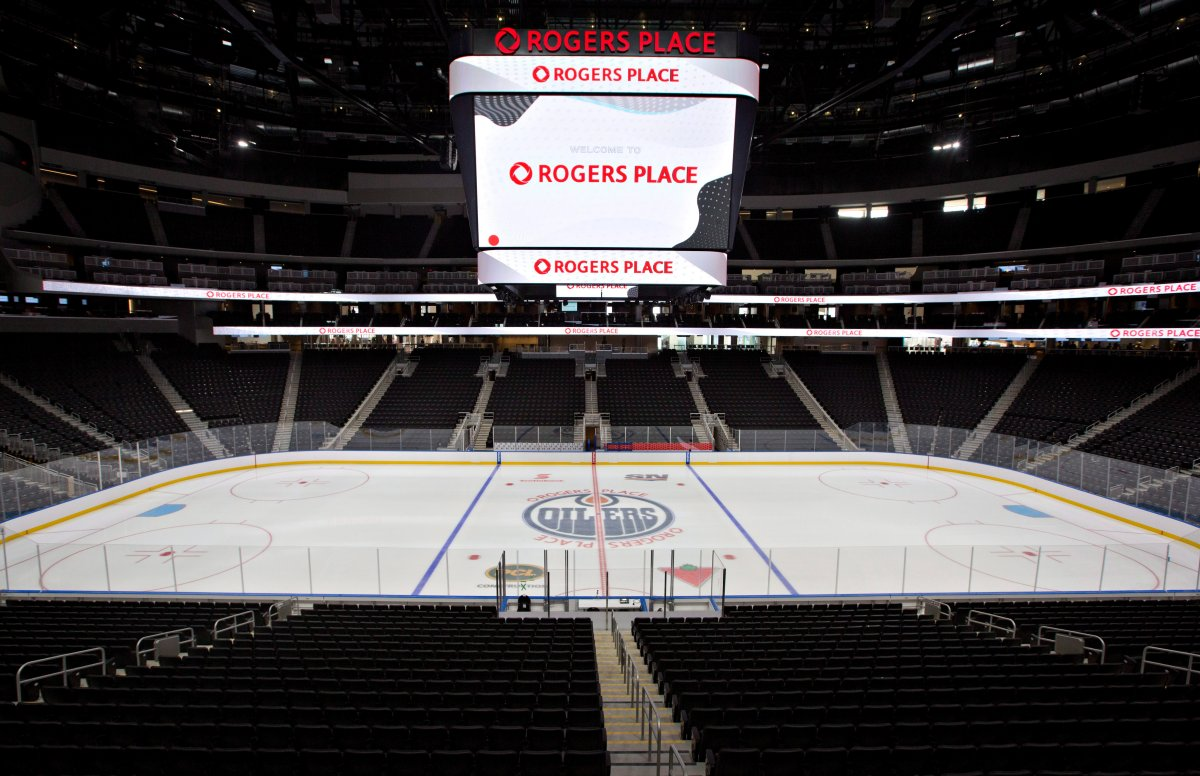 Rogers Place Arena, the new home of the Edmonton Oilers, in Edmonton, Alta., on Thursday, September 8, 2016.