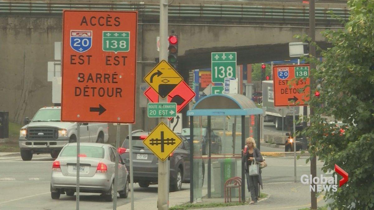 If you're looking to travel over the long weekend you may want to take some extra time doing so. Road work will force several closures across Montreal, October 7, 2016.
