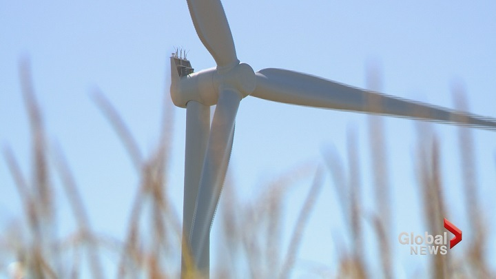 Wind turbines giving workers new career opportunities.