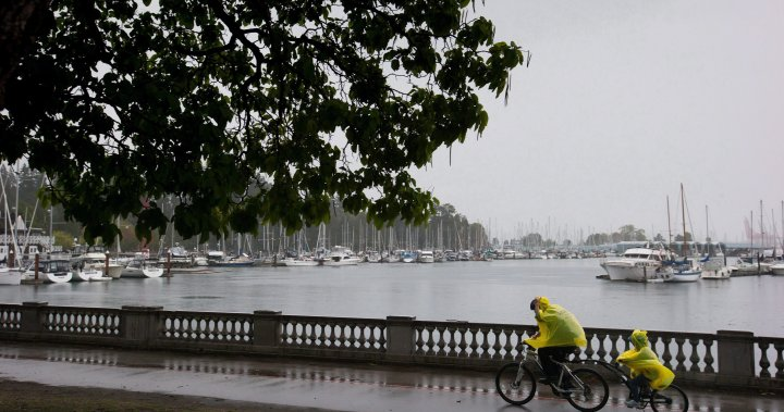 Caution urged on roads, near waterways as 'atmospheric river' drenches B.C.'s South Coast