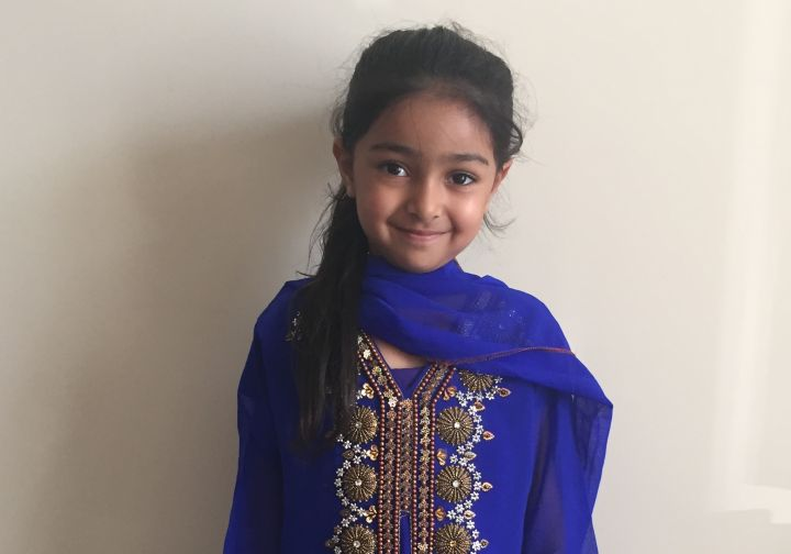 Four-year-old Amber Athwal is shown in this photo taken in July 2016. Athwal went into a coma following a dental visit in September 2016.