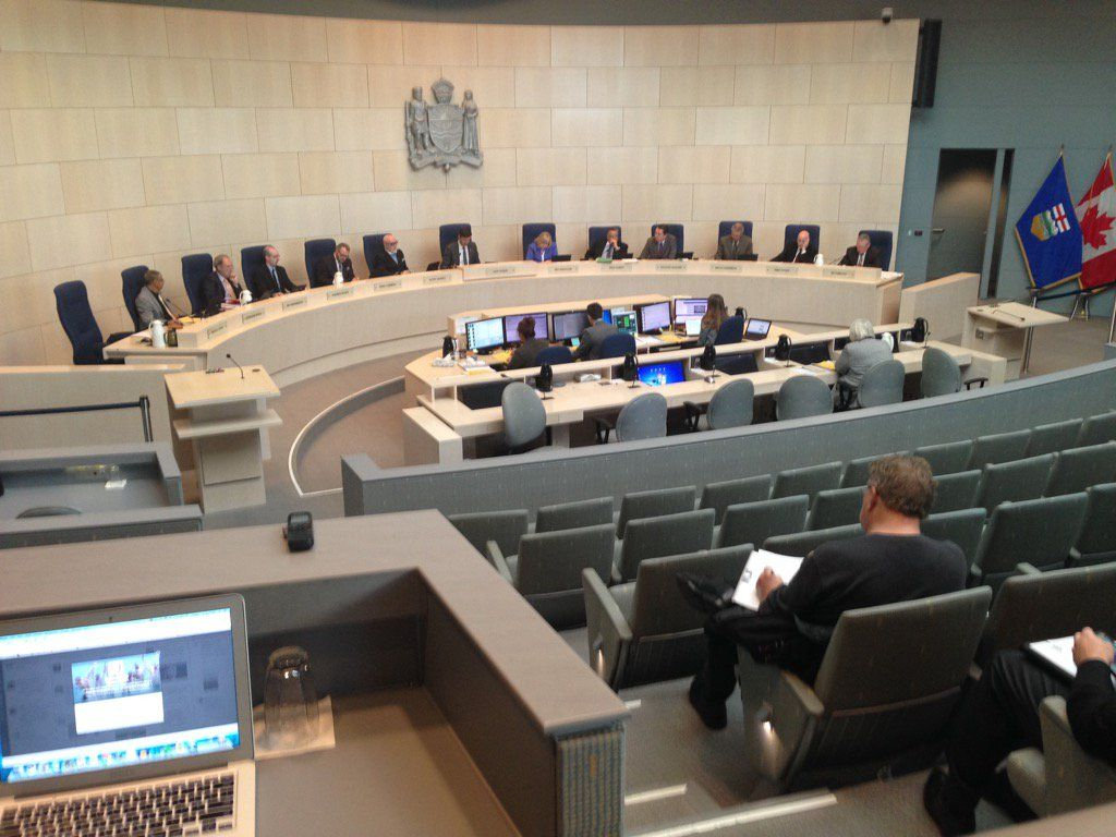 Edmonton city council, Tuesday, Oct. 11, 2016.