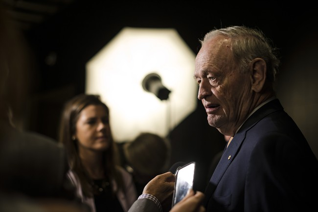 Former prime minister Jean Chretien is anxious to distance himself from the so-called Paradise Papers.