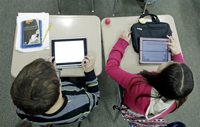 The laptops and other similar devices will be prioritized to students who are using online learning or who have disabilities.