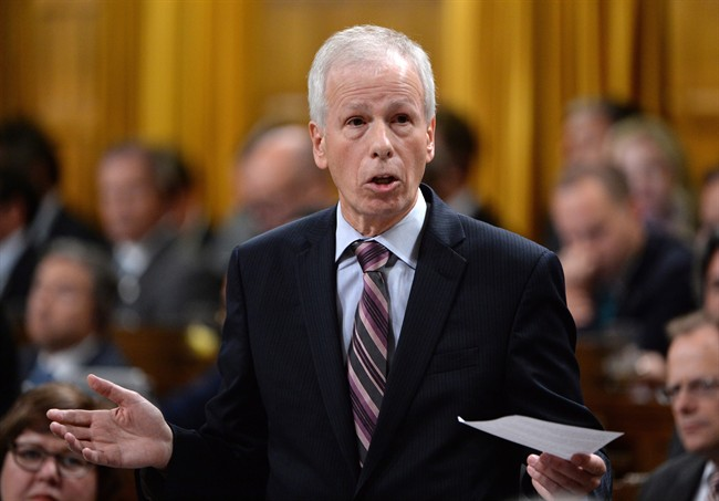 Minister of Foreign Affairs Stephane Dion responds to a question during question period in the House of Commons on Parliament Hill in Ottawa on Wednesday, Sept. 28, 2016.