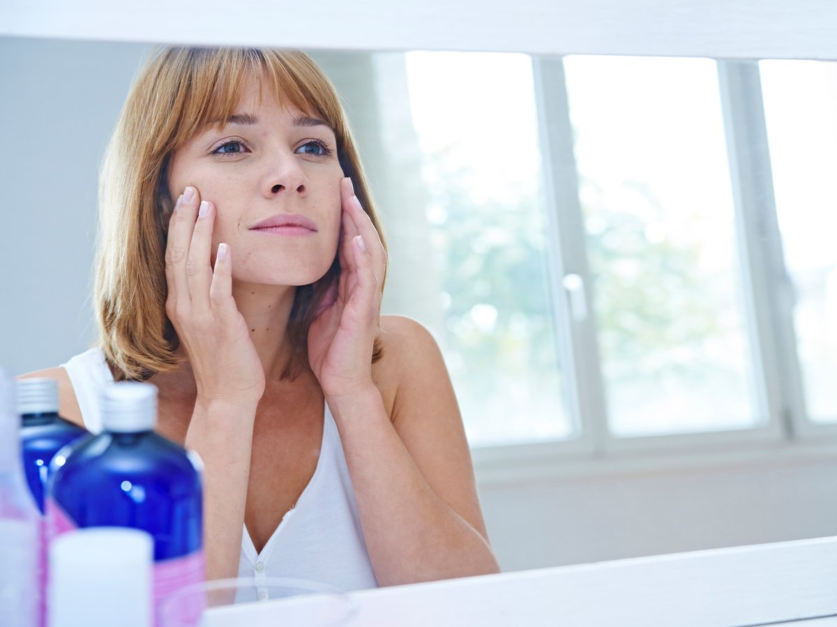 Popping a pimple in the 'danger triangle' of the face could lead to serious health consequences.