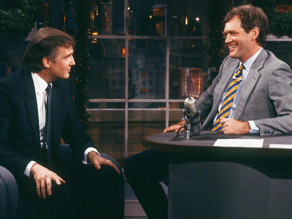 Donald Trump, David Letterman