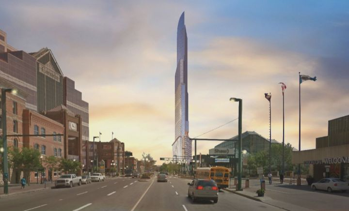 If approved, The Quarters Hotel and Residences could become the tallest building in Alberta's capital.