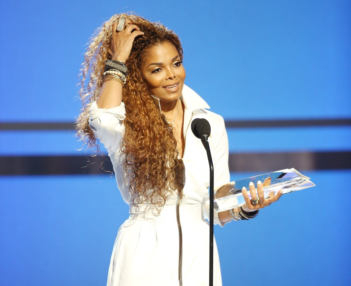 Janet Jackson speaks onstage during the 2015 BET Awards held at Microsoft Theater on June 28, 2015 in Los Angeles, California.