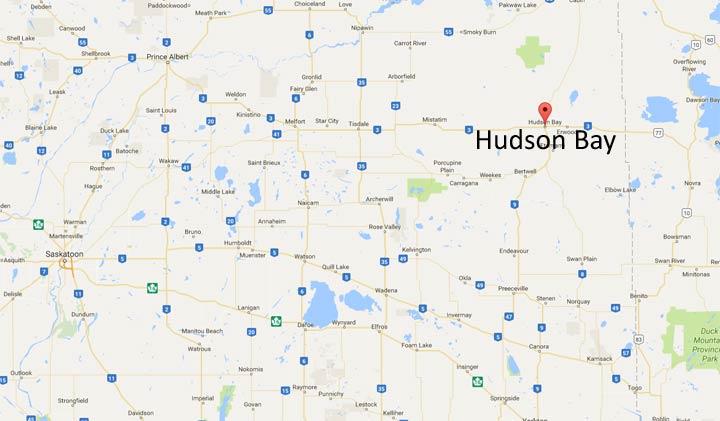Two people were declared dead after a house fire in Hudson Bay, Sask. Friday.