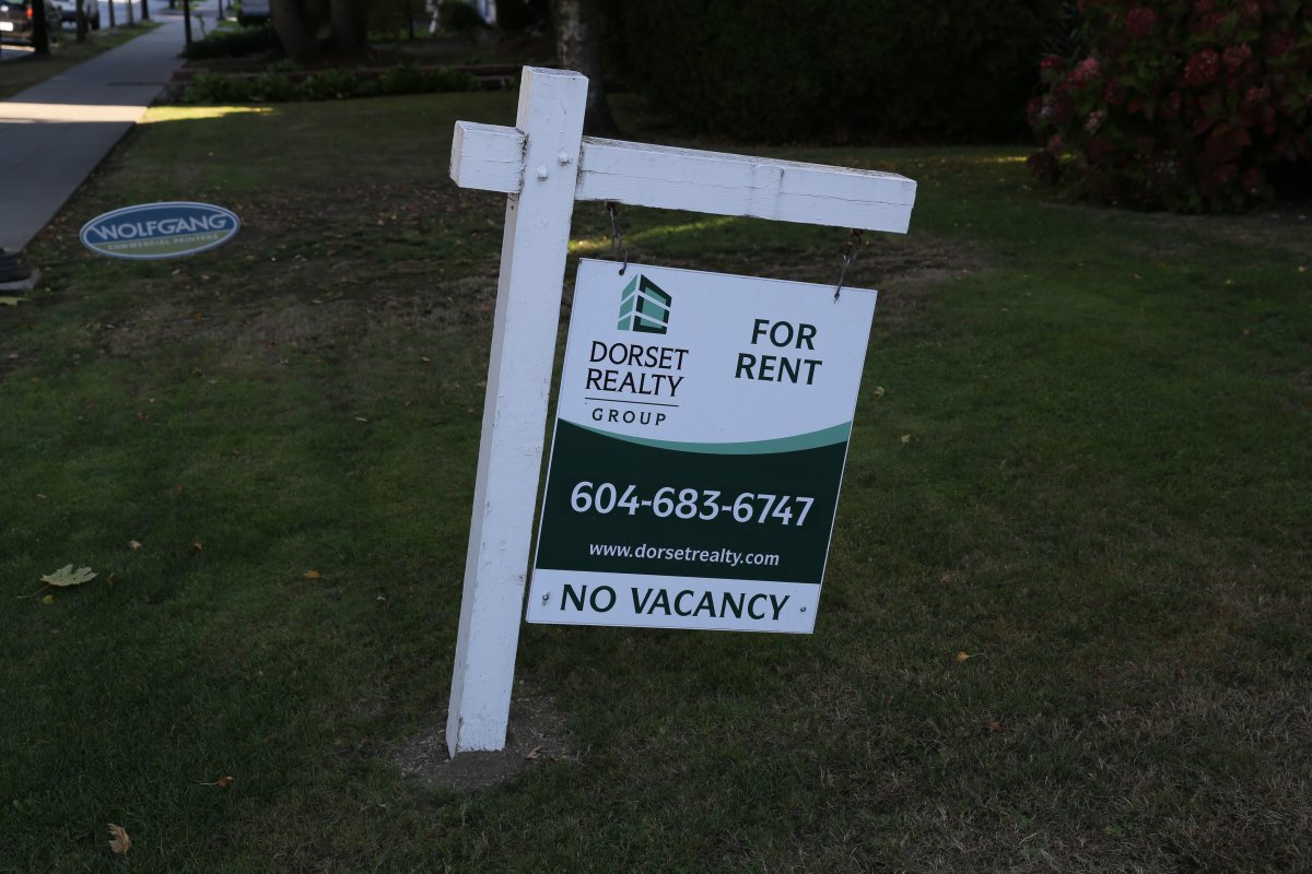 Fore rent sign Vancouver real estate rental rents