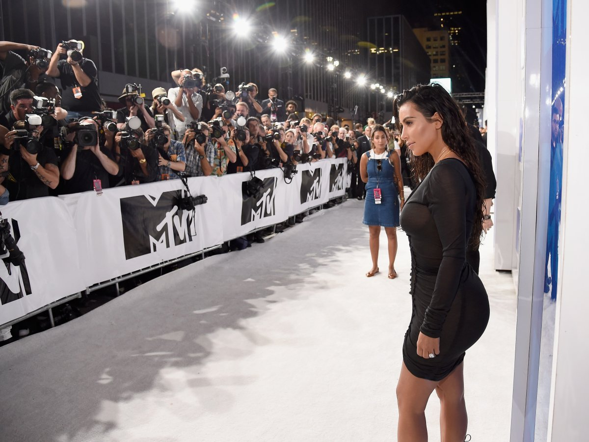 A pronounced posterior, like Kim Kardashian's, is linked to higher intelligence and better health in women.