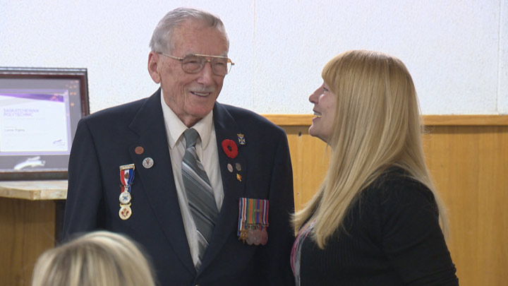 Saskatoon is home to Lorne Figley, the world's oldest plumber who has no plans to retire anytime soon.