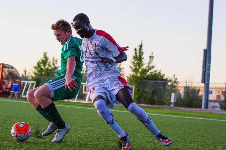 WSA Winnipeg striker Moses Danto.
