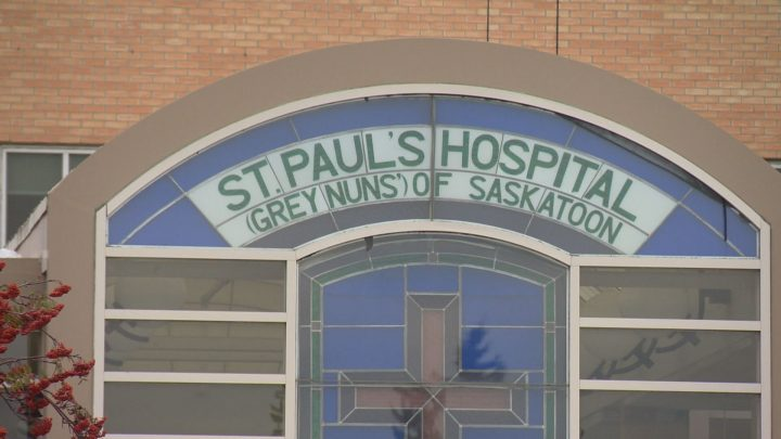The NDP's health critic says overcapacity at St. Paul's has reached record levels, making patients fire hazards in the hospital's hallways.