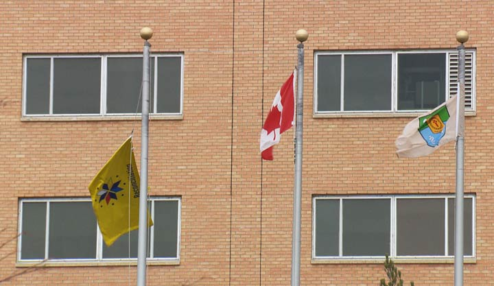 A truth and reconciliation flag was raised in Saskatoon to improve healthcare for First Nations and Métis patients at St. Paul's Hospital.
