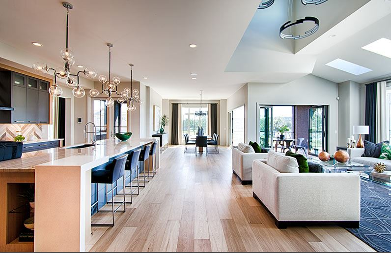 Inside the Calgary Hospital Home Lottery $2.4 million Grand Prize Showhome located at 83 Cranbrook Lane S.E.