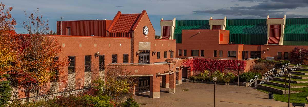 Cape Breton University is pictured.
