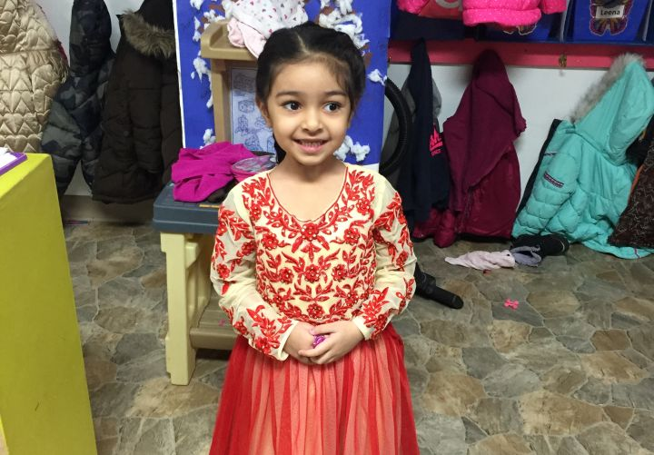Amber Athwal on her fourth birthday Jan. 7, 2016.