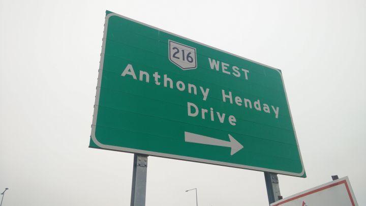 Edmonton's Anthony Henday Drive.