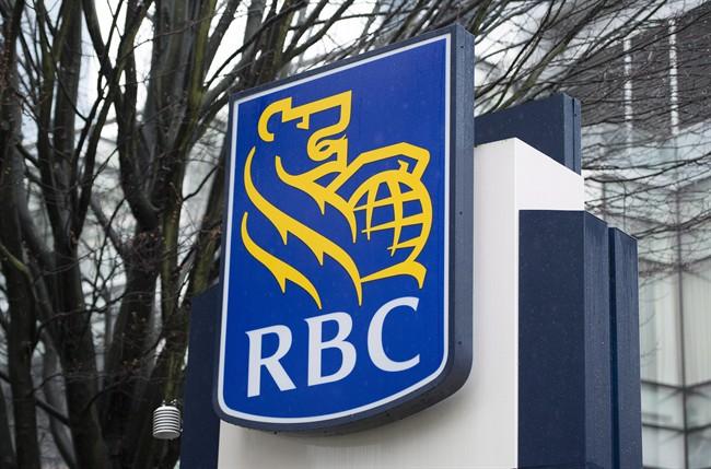 RBC bank logo. Jonathan Hayward/THE CANADIAN PRESS.