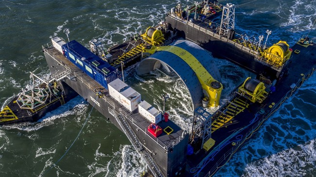 A group of fishermen is asking a Nova Scotia Supreme Court judge to overturn a decision by the province's environment minister to approve installation of a massive tidal turbine in the Bay of Fundy.
