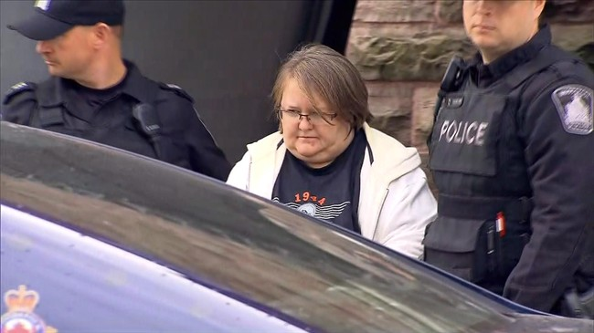 A nurse accused of killing eight seniors at two long-term care homes in southwestern Ontario has had her case put over to Dec. 8 after a brief court appearance Friday morning. Elizabeth Tracey Mae Wettlaufer, of Woodstock, Ontario, is shown in this still image taken from video provided by Citynews Toronto, in Woodstock, Ont., on Tuesday, Oct. 25, 2016. THE CANADIAN PRESS/HO-Citynews Toronto.