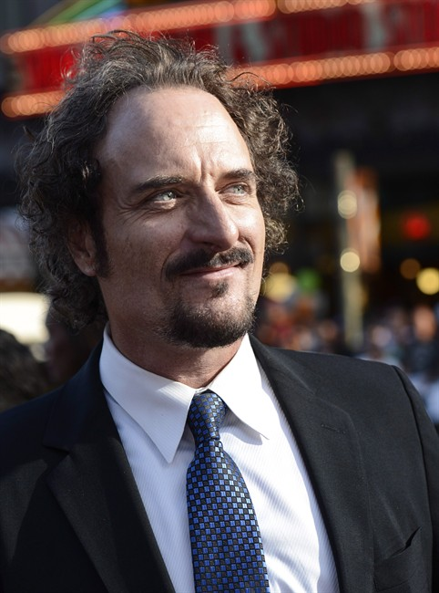 """Actor Kim Coates arrives on the red carpet at the season six premiere screening of the television series """"Sons of Anarchy"""" at the Dolby Theatre on Saturday, Sept. 7, 2013 in Los Angeles. Former """"Sons of Anarchy"""" star Coates will receive the 2017 ACTRA National Award of Excellence from the union representing Canadian performers."""