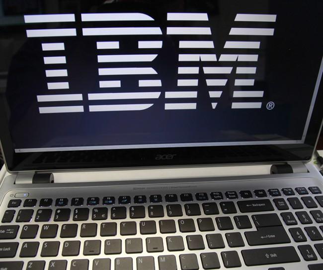 An IBM logo is displayed.