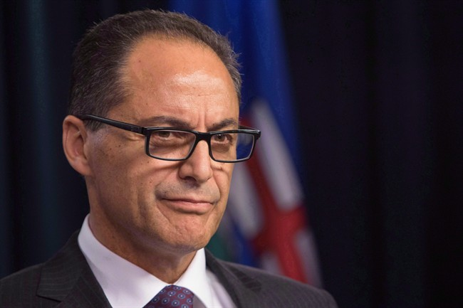 Alberta Finance Minister Joe Ceci is criticizing the Canada Revenue Agency's request that families of deceased residents return carbon rebate cheques.