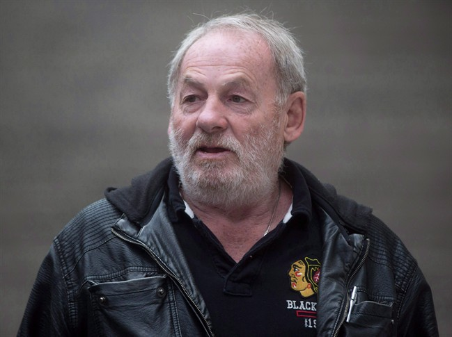 Ivan Henry, who was wrongfully convicted of sexual assault in 1983, leaving B.C. Supreme Court during a lunch break in Vancouver, B.C., on Monday August 31, 2015.