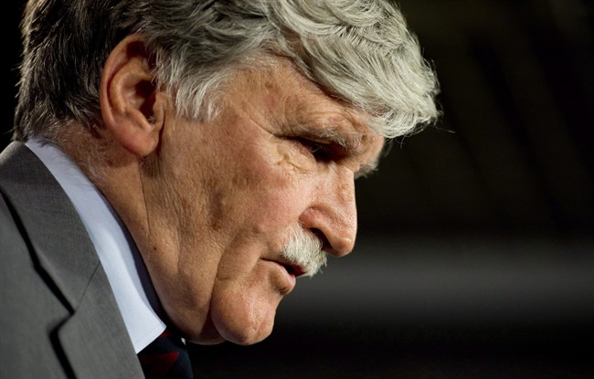 """After returning from Rwanda, retired lieutenant-general Romeo Dallaire avoided Remembrance Day """"like the plague."""""""