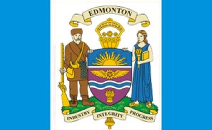The City of Edmonton's official flag.