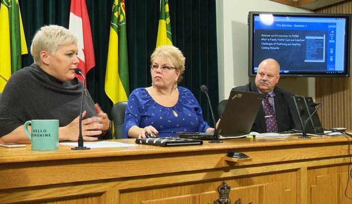 Saskatchewan Social Services Minister Tina Beaudry-Mellor says online training is a real game-changer for prospective foster parents.