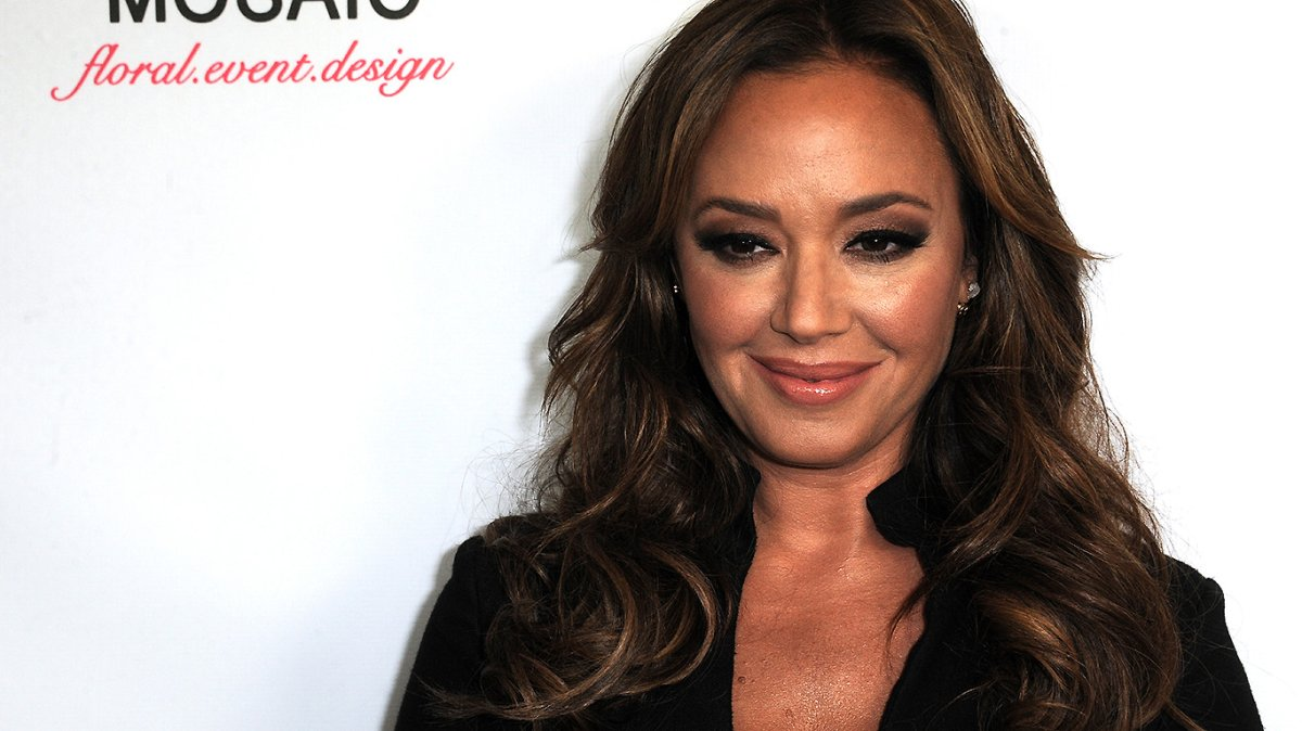 Leah Remini arrives for the Viva Glam Issue Launch Party Hosted by cover girl Leah Remini on June 2, 2015 in Beverly Hills, California.