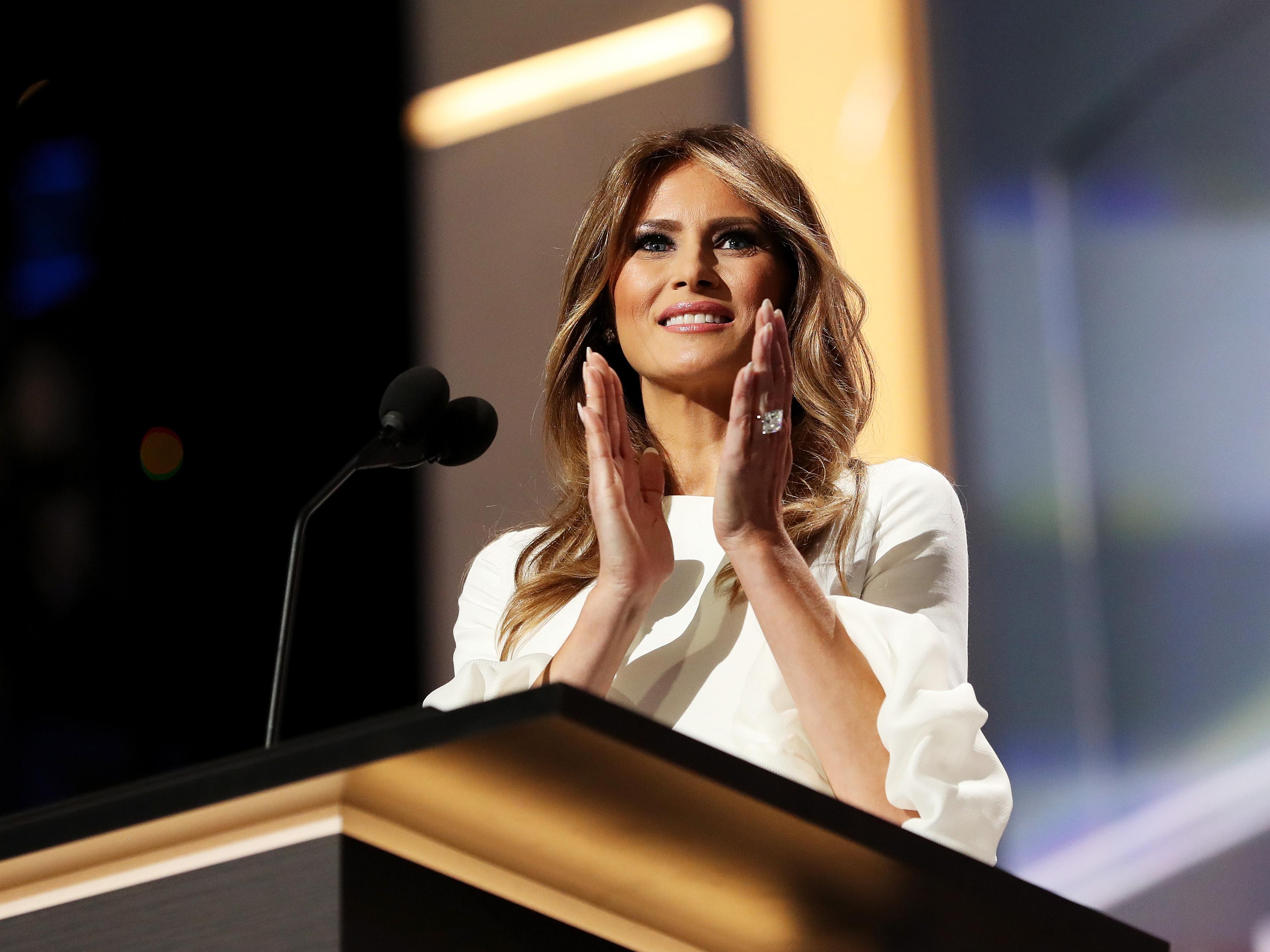 Fashion Designer Says She Won T Dress Melania Trump National Globalnews Ca