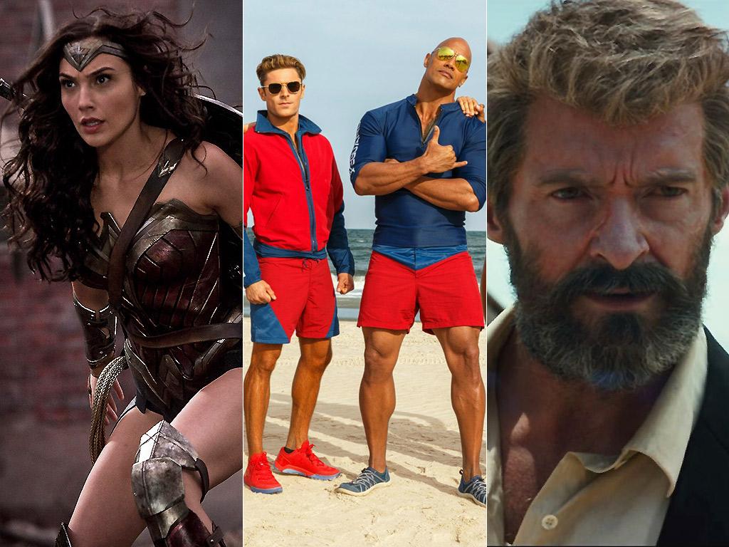 Wonder Woman/Baywatch/Logan