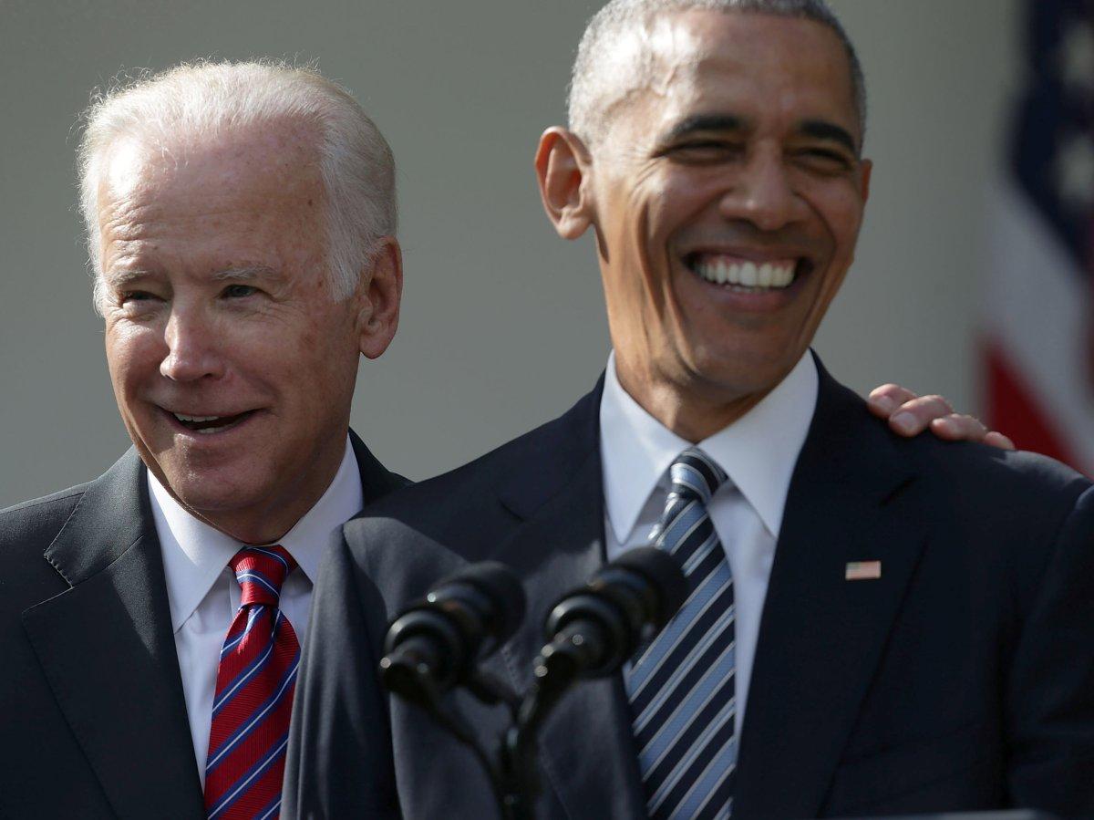 A fine 'bromance': Barack Obama and Joe Biden have repeatedly spoken of their close bond.