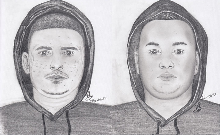 Suspects wanted for a robbery that happened May 1.