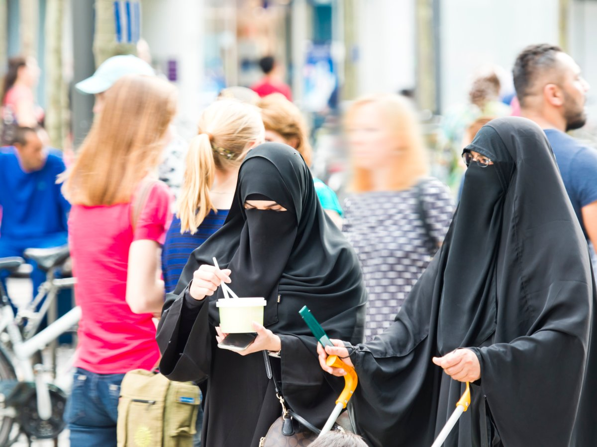 Quebec's Bill 62 mandates that to receive or provide public service in Quebec a person may not engage in such activity while wearing a face covering.