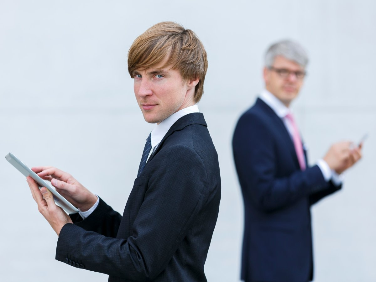 A recent study out of Germany shows that older employees work less effectively when managed by a younger boss.