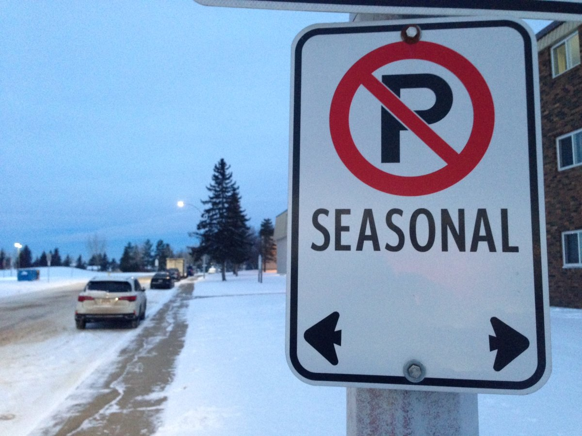 An overnight parking ban has been declared from Monday night to Tuesday morning in Saint John.