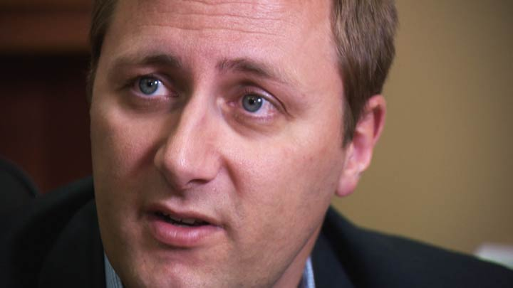 """Conservative leadership candidate Brad Trost tweets support for the crowd of Albertans who took part in a Donald Trump-style chant of """"lock her up."""""""
